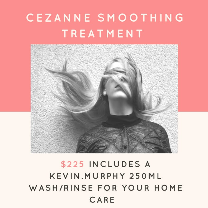 Cezanne Keratin Smoothing Treatments – just in time for Summer