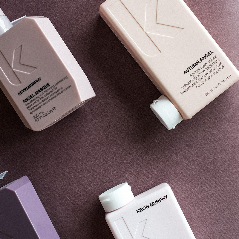 A collection of hair salon products by KEVIN.MURPHY